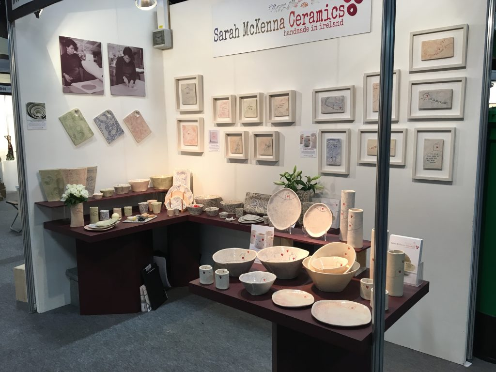 Sarah McKenna stall at Showcase
