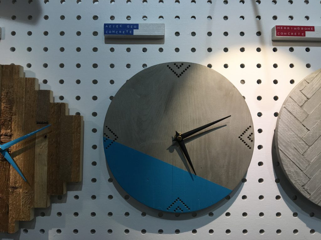 Hey Bulldog Design clock at the RDS