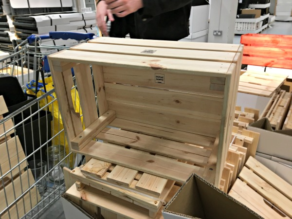 Crate in Ikea Dublin