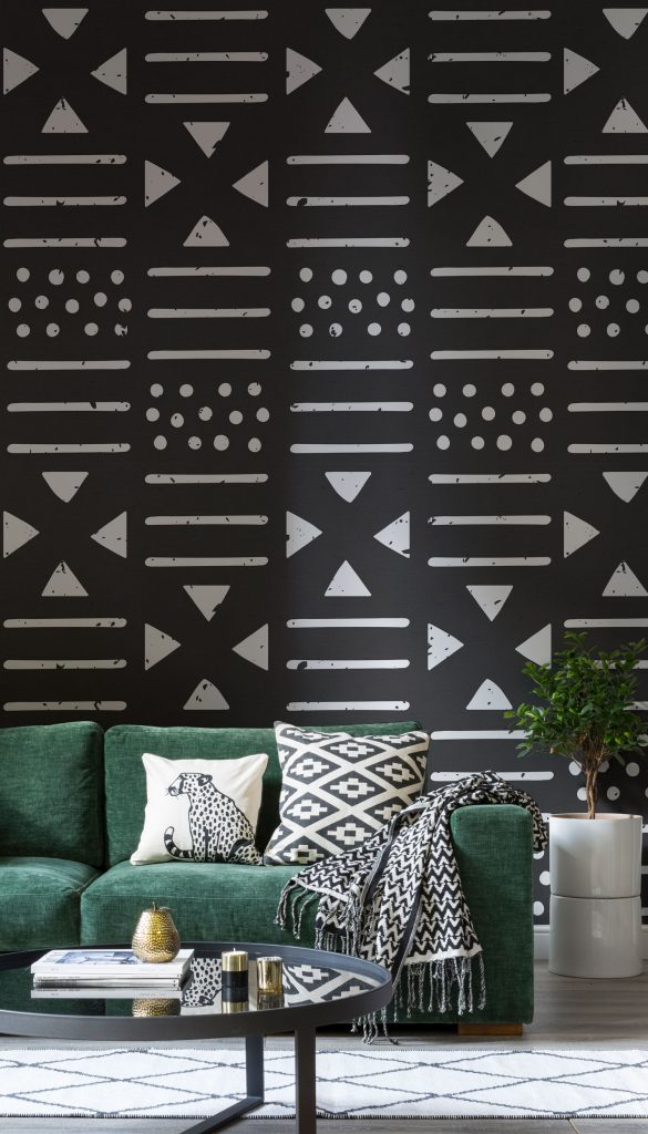 Each Pattern Adds A Touch Of Geometric Edge For Contemporary Take On Timeless Tribal Inspired Decor