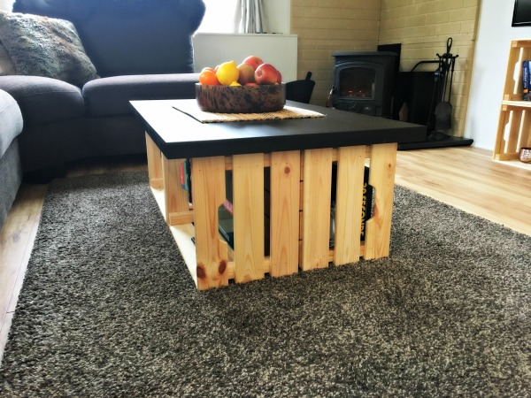 Ikea Crate Coffee Table