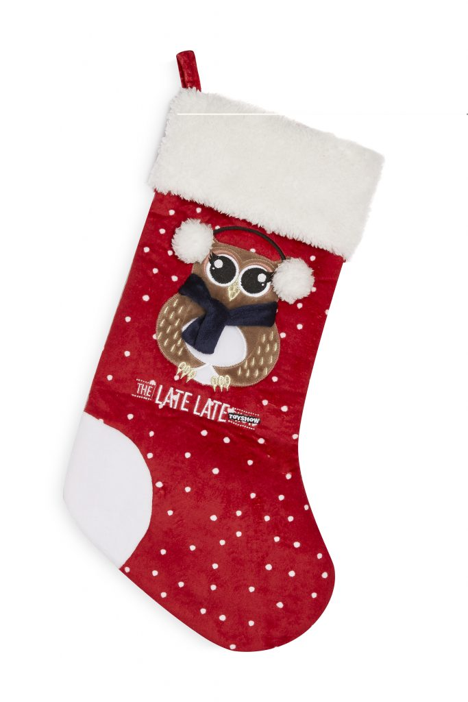 rte late late show christmas stocking