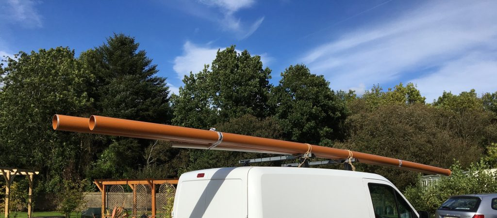 sewage pipe for mobile home