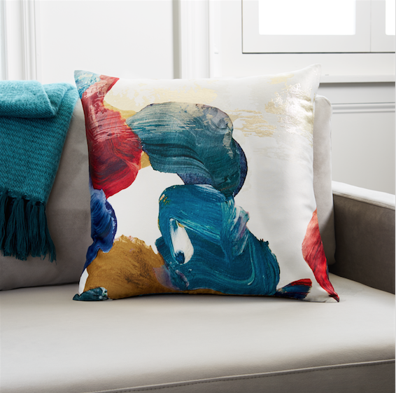 West Elm Dublin cushions