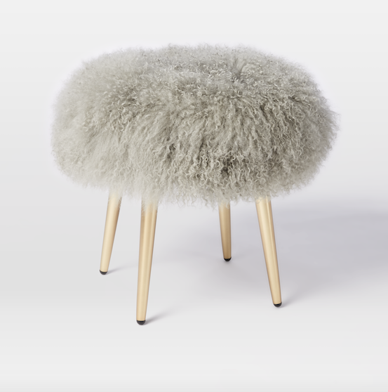 west elm stool