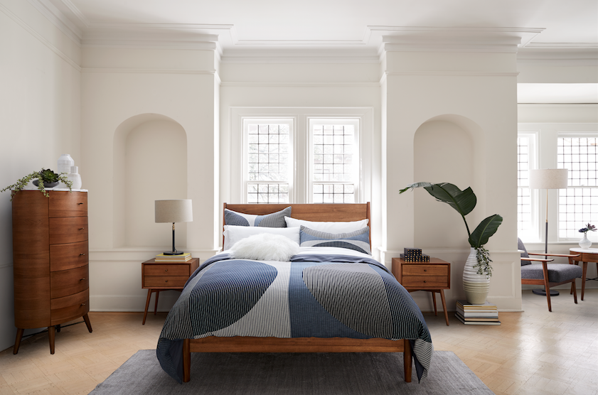 west elm bed linen