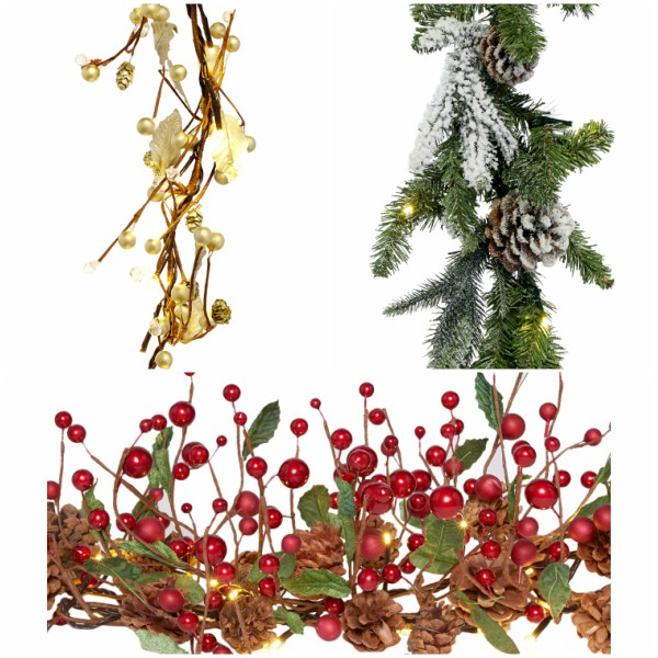 christmas garlands for small houses