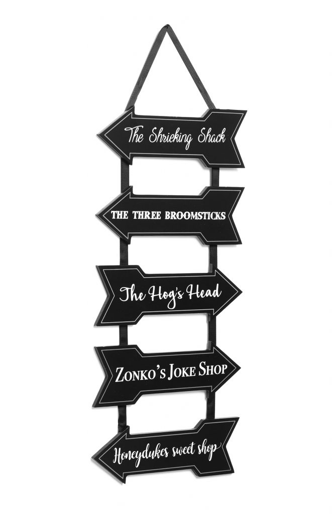 Harry Potter street signs