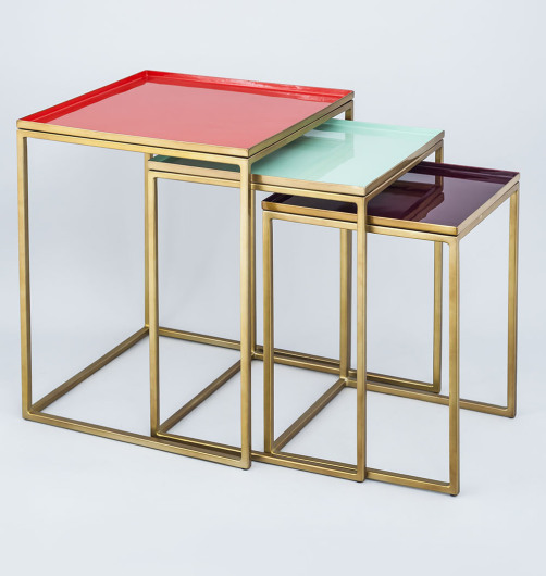 nest of tables at Ambiente
