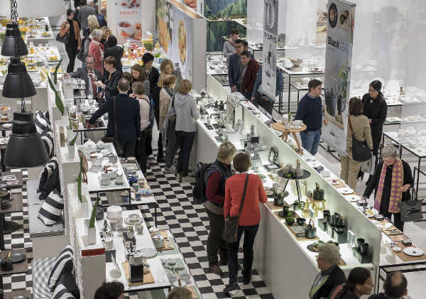 Exhibitors at Ambiente trade show