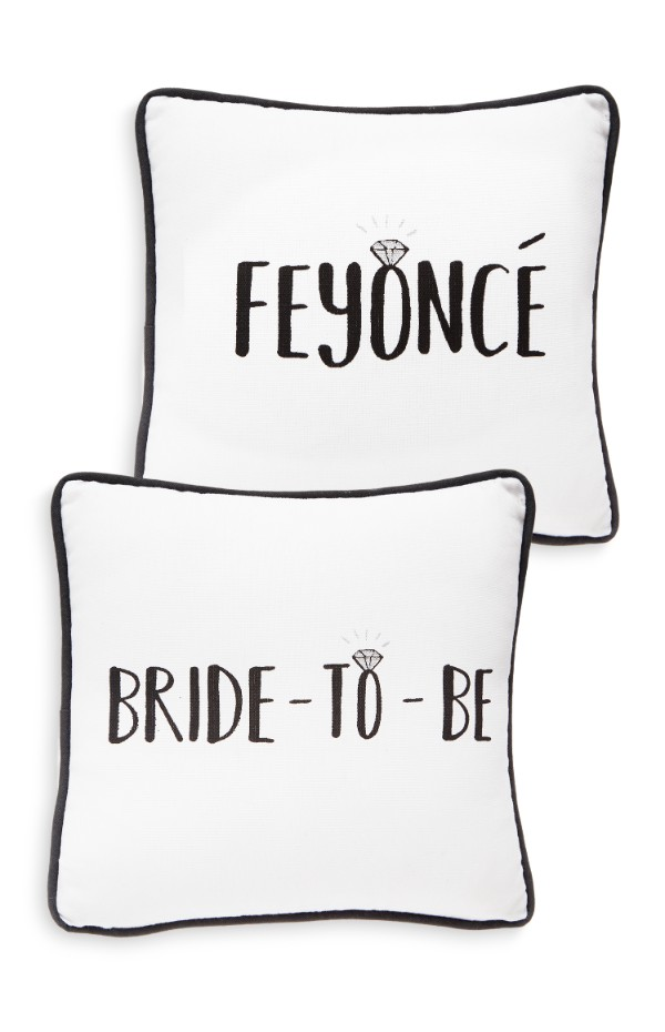 primark wedding collection cushion