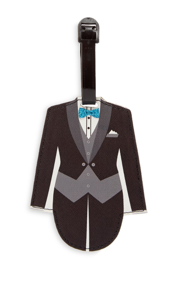 penneys wedding collection groom luggage tag