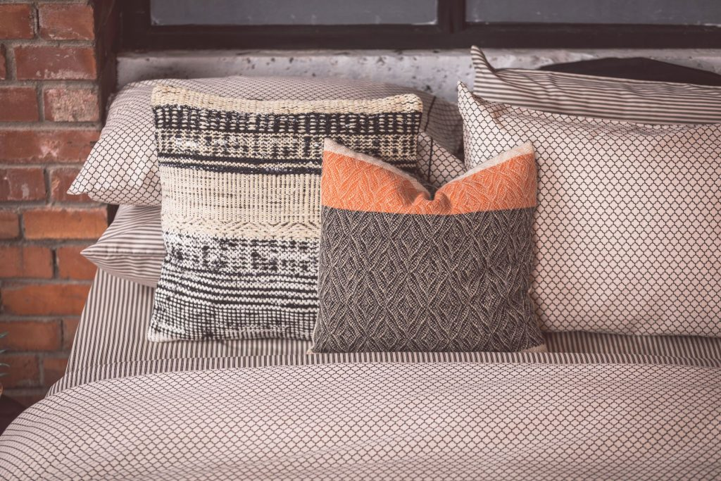 ethnic honeycomb duvet set