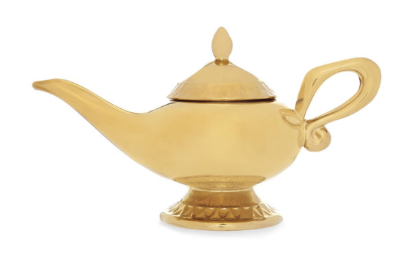 Magic lamp teapot from Aladdin
