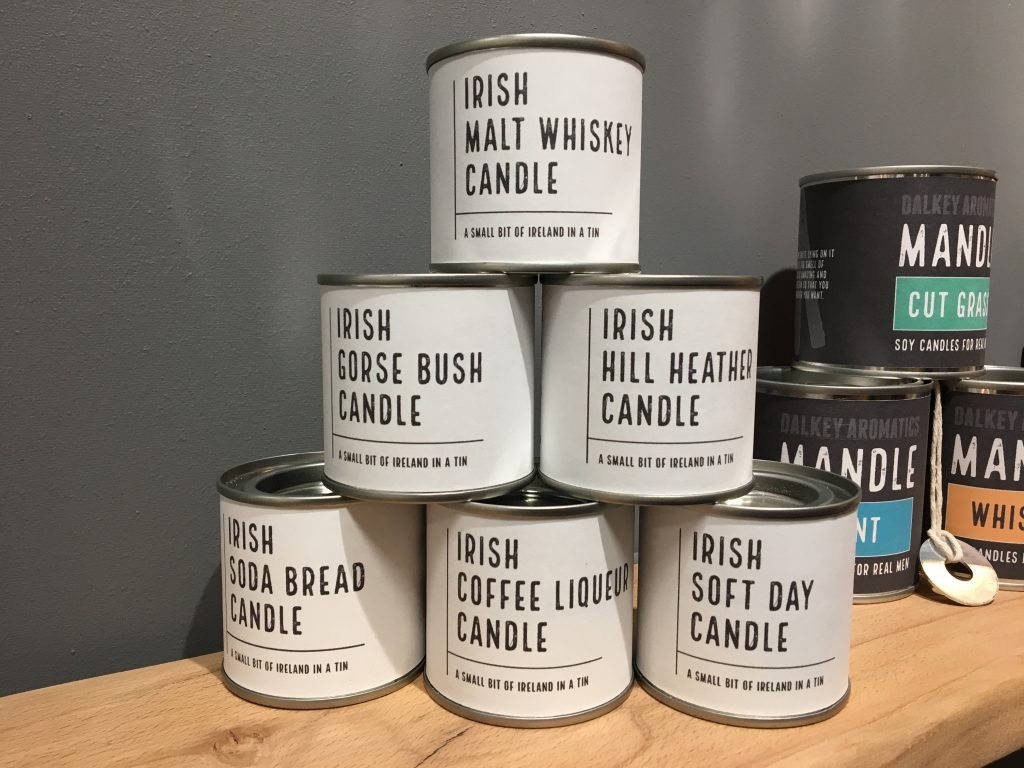 Candles by Dalkey Aromatics at Showcase
