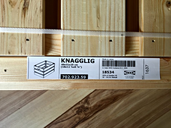 Knagglig crate