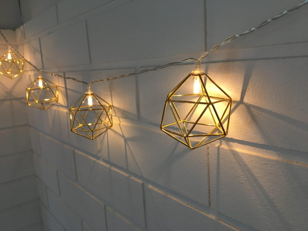 primark string lights for a small space